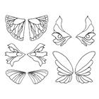 Gelatin Veining Sheet- Fairy Assortment #1
