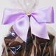 Lilac Twist Tie Bow