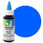 Liquid Blue Chefmaster Candy Color (Old Item # 41-3276)
