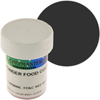 Black Chefmaster Powdered Food Color (Old Item # 41-4301)