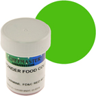Green Chefmaster Powdered Food Color (Old Item # 41-4303)