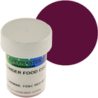 Burgundy Chefmaster Powdered Food Color (Old Item # 41-4310)