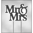 Mr. & Mrs. Cake Top Chocolate Candy Mold
