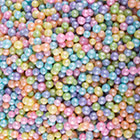 Pastel Mixed Colors Shimmer Beads