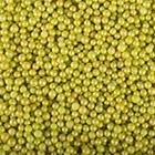 Lime Green Shimmer Beads