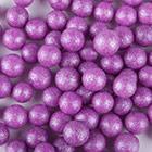 Purple Jumbo Shimmer Beads