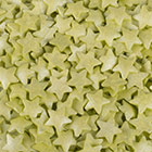Jumbo Lime Green Stars Shimmer Shapes