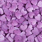 Jumbo Purple Hearts Shimmer Shapes