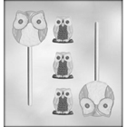 Owl Sucker and Mint Chocolate Candy Mold