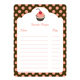 Cookbook Stickers - Cherry Cupcake