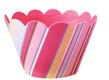 Cupcake Wrapper- Candy Stripe