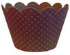 Cupcake Wrap - Eggplant