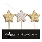 Sparkle Stars Candles