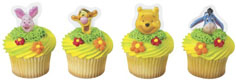 Cupcake Plaque- Pooh™ Faces
