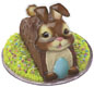 Easter Bunny Pop Top - Brown