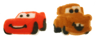 Dec-Ons® Molded Sugar - Cars/McQueen & Mater