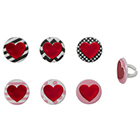 Hearts of Desire Rings