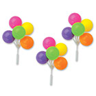Neon Balloon Cluster Pick