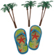 Summer Flip Flop Deco Set