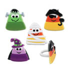 Candy Corn Character Rings