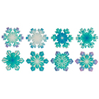 Sugarsoft® Snowflakes Decorations