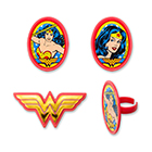 Amazing Wonder Woman Rings