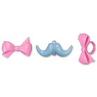 Bow and Mustache Rings