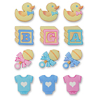 Sugarsoft® Baby Assortment Decorations