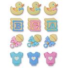 Sugarsoft® Baby Assortment Decorations