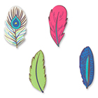 Sugarsoft® Feather Assortment Decorations