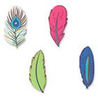 Sugarsoft® Feather Assortment Decorations