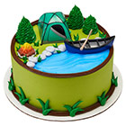 Fireside Camp Cake Top Set
