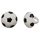 3D Soccer Ball Rings