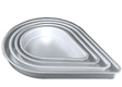 "Teardrop Cake Pan-10"" x 2"""