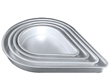 "Teardrop Cake Pan-14"" x 2"""