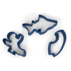 Shark Attack Cookie Cutter Set