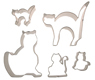 Cats Cookie Cutter Set