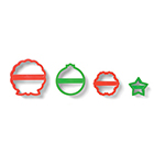 Nesting Wreath Cookie Cutter Set