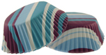 Purple & Blue Stripe Standard Baking Cups