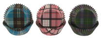 Plaid Standard Baking Cups