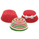 Christmas Circles Standard Baking Cups