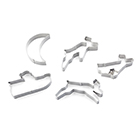 Santa Sleigh Cookie Cutter Set