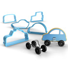 Car Cookie Cutters and Feet Set