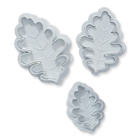 Oak Leaf Plunger Cutter Set