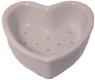 Porcelain Coeur A La Crème - Small