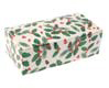 1 lb. Pinecone Holly Candy Box