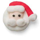 Icing Layons - Tiny Santa Faces