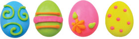 Icing Layons - Large Bright Egg Assortment