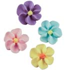 Royal Icing Flowers - Tiny Assortment