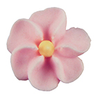 Royal Icing Flowers - Small Pink